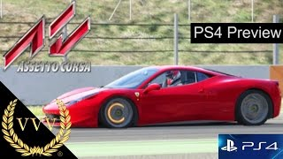 Assetto Corsa PS4 Preview