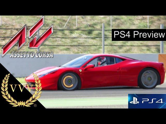 Assetto Corsa PS4 Preview