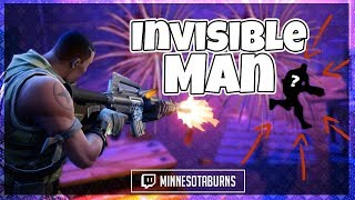 Fortnite: Invisible Man! (Fortnite BR Funny Fails and Clutches)