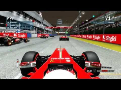 Formula 1 2013 : Corrida Cingapura #28