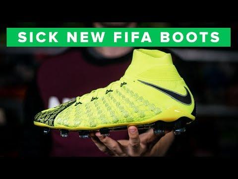 NEW FIFA BOOTS - EA Sports X Nike Hypervenom Phantom III DF football boots