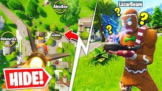 Their GUIDED MISSILE CAN'T Find Me! | Fortnite Guided Missile Hide & Seek Playground Mode!