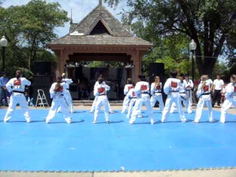 Taekwondo Dance Team