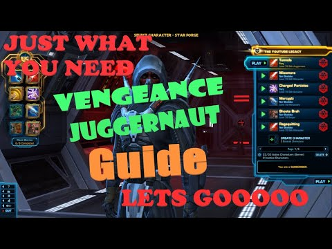 SWTOR: Vengeance Juggernaut