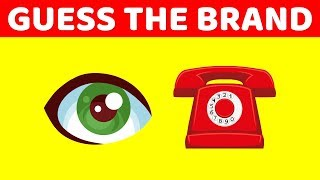 Can You Guess The Brand by The Emoji? | Emoji Challenge - 99% Fail EMOJI PUZZLES (FUN TEST)