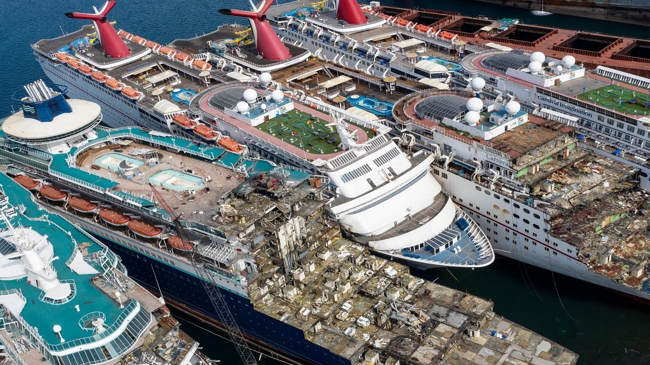 Cruise Ships Sold for Scrap 2020
