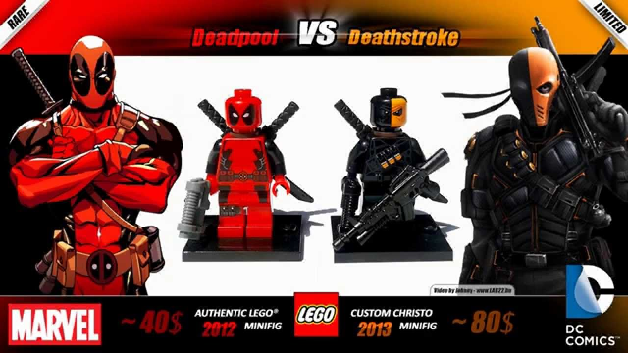 LEGO Deadpool VS Deathstroke