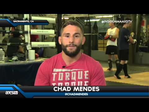 Chad Mendes Talks Frankie Edgar and Conor McGregor