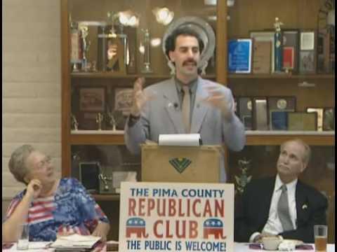 Borat On Politics