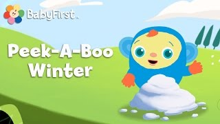 Winter | Hide and Seek for Babies | Peek-A-Boo, I See You | BabyFirst TV