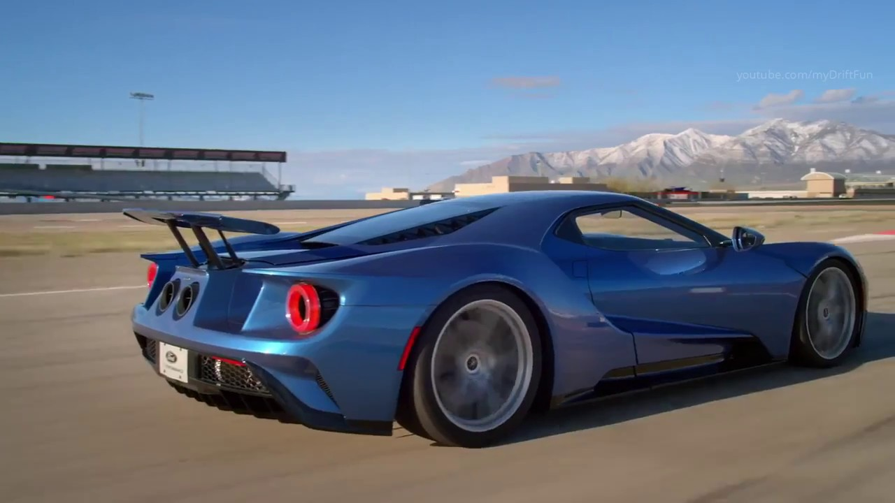 Ford Gt Supercar From Ford Youtube
