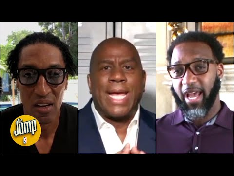 Magic Johnson, Tracy McGrady and Scottie Pippen debate LeBron vs. Giannis for NBA MVP | The Jump