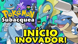 Pokemon Subacquea (Hack Rom - GBA) - O Início Subaquático!