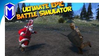The Battle of Timber - New Units! Dwarfs, Dresser, Table, And Santa - Ultimate Epic Battle Simulator