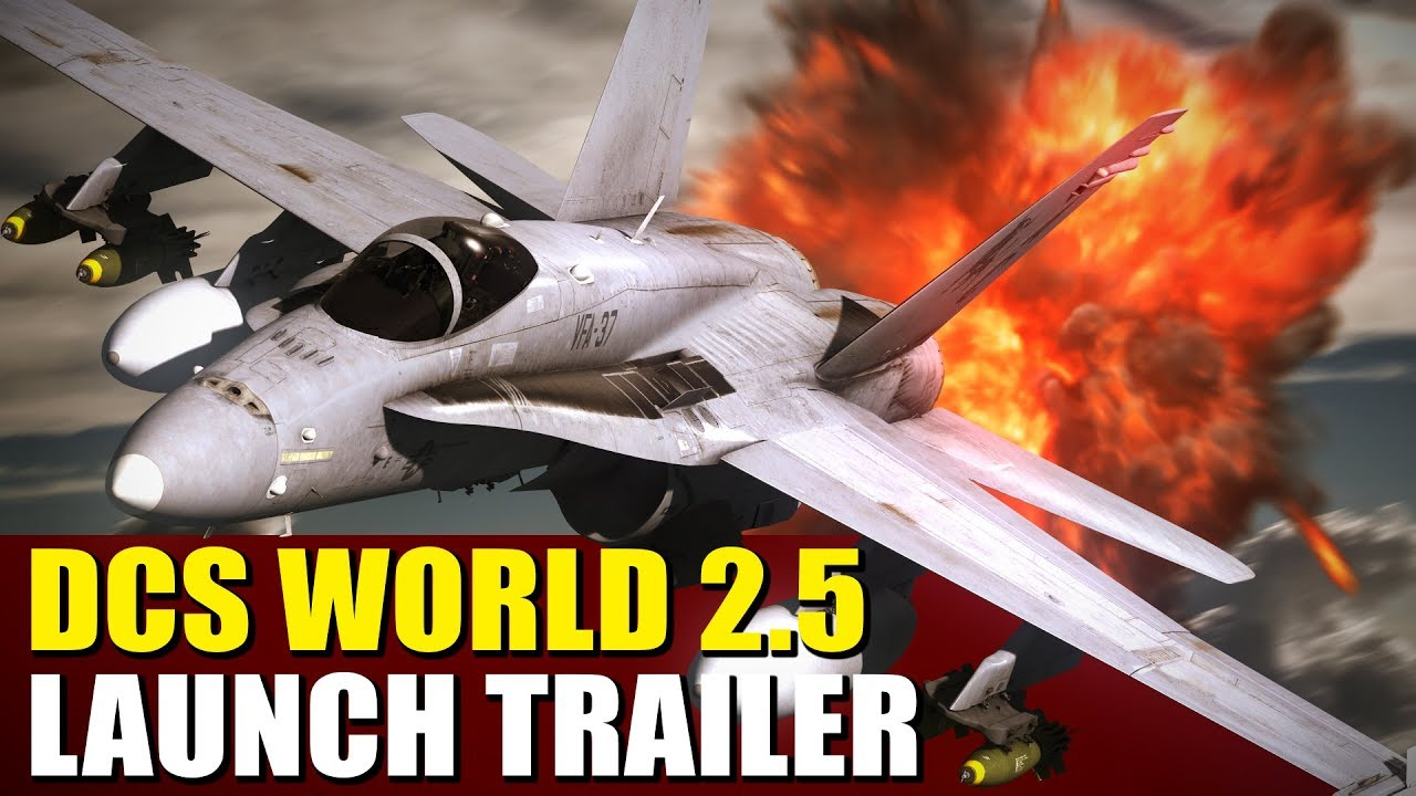 World's most spectacular PLAY FOR FREE combat game! DCS World 2 5!