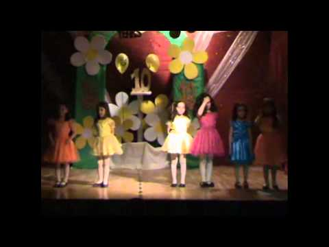 KG.2 National Section P.E Show 2012 part 1 .avi