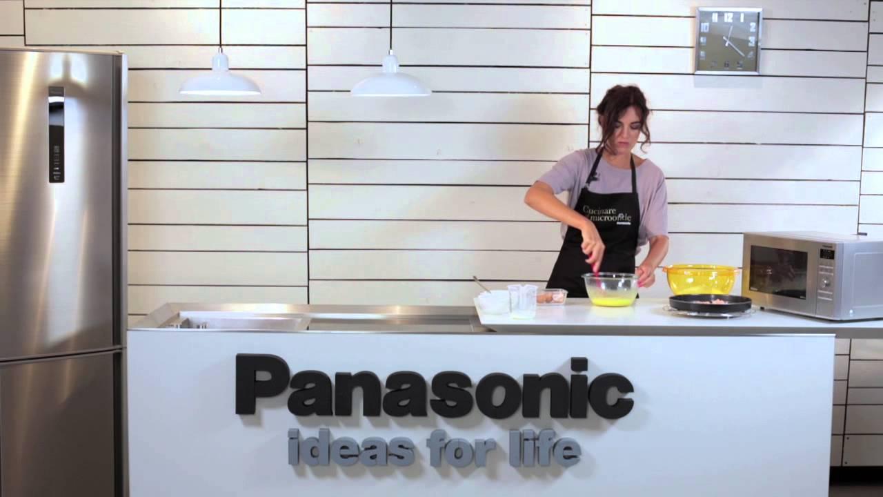 Panasonic cucinare al microonde raffaella amoroso youtube - Cucinare a microonde ...