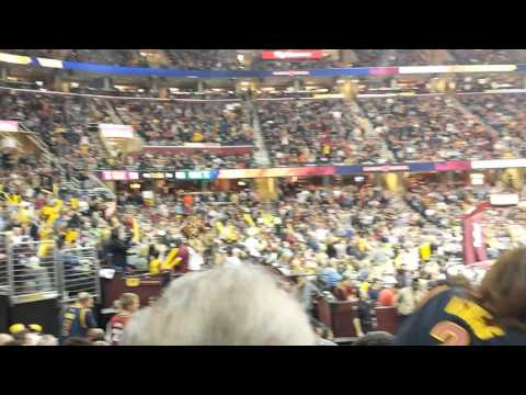 Cavs Basketball Game Vs Celtics Sec 123 Row 12