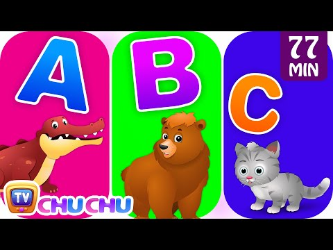 Animal Alphabets Song with Animal Names & Animal Sounds | Plus More ChuChuTV Nursery Rhymes for Kids