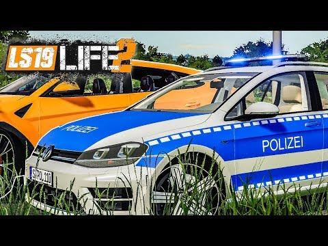 LS19 LIFE 2 #18: Verrückte Aktion Mit POLIZEIEINSATZ! | FARMING SIMULATOR 19