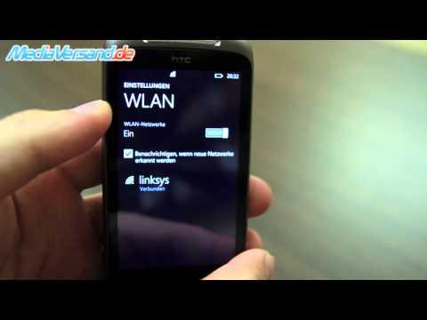 HTC 7 Mozart Einblick Handy Telefon Mobile