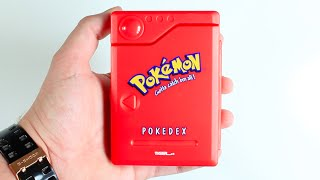Unboxing Original 1999 Pokemon Pokedex