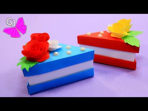 Торты из бумаги своими руками схемы