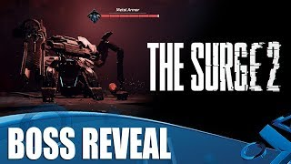 The Surge 2 - Boss Reveal! Metal Armour AND Major General Ezra Shields