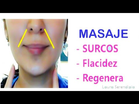 Masaje Linfático Surco Nasogeniano / Marionette Lines Masagge
