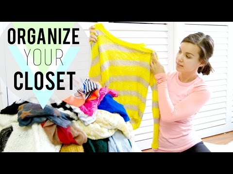 Make Living With Less: Closet Organization Images