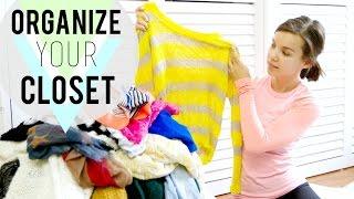 Living With Less: Closet Organization