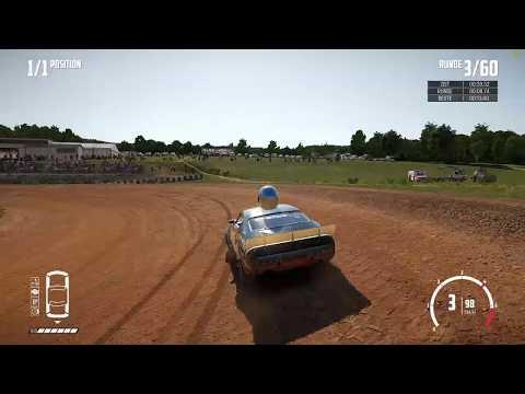 Wreckfest - Bloomfield Speedway Dirt Oval (1 Lap / A Class) [13.389]