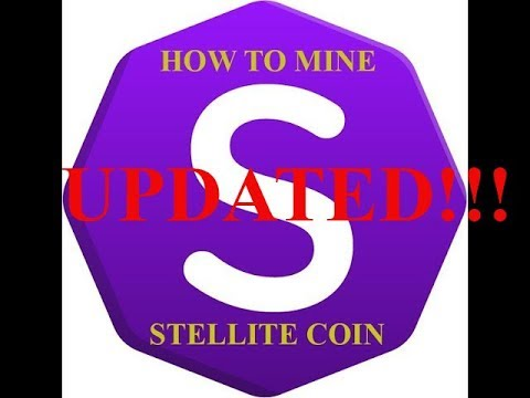 How to mine STELLITE COIN UPDATE!
