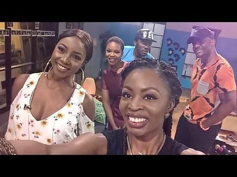 """Stay humble and Connect; Bovi visits with the gorgeous Ini Dima Okojie to discuss """"New Level Snubs"""""""