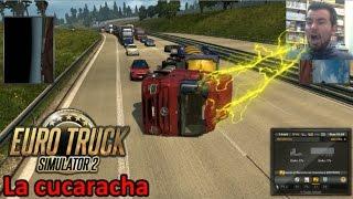EURO TRUCK SIMULATOR 2 (PC) - Patas arriba como las cucarachas || Gameplay en Español