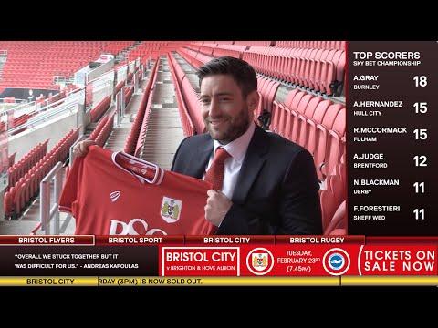 Bristol Sport TV - Featuring Lee Johnson