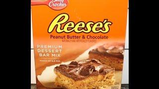 Reese's Premium Dessert Bar Mix By Betty Crocker