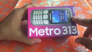 samsung metro 313 unboxing NEW BOX 2020 SM-B313E