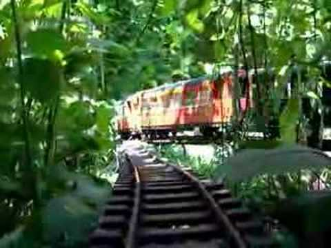Trains de jardin youtube for Jardin youtube