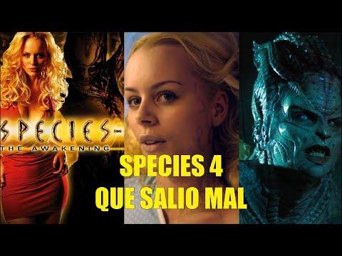 Species 4 El Despertar Que Salio Mal y Curiosidades