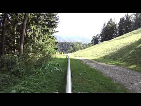 The Longest Alpine Slide Coaster in Salzburg, Austria