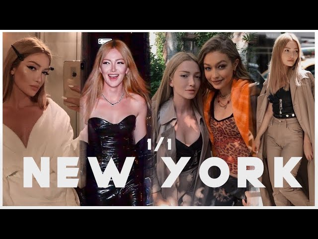 New York Vlogu   Gigi Hadid ile Tanıştım, Kendall Jenner ile Neler Yaşadım!