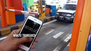 Pengalaman Jajal Transaksi Elektronik di Jalan Tol