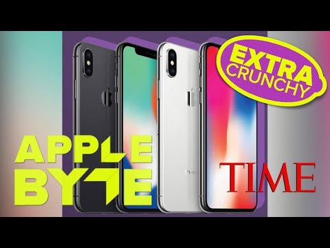 iPhone X: Time Magazine's top 25 best inventions of 2017 (Apple Byte Extra Crunchy Podcast, Ep. 110)