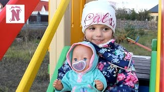 Беби Борн на прогулянці в колясці Одяг для ляльки, Іграшки для дівчаток Baby Born doll