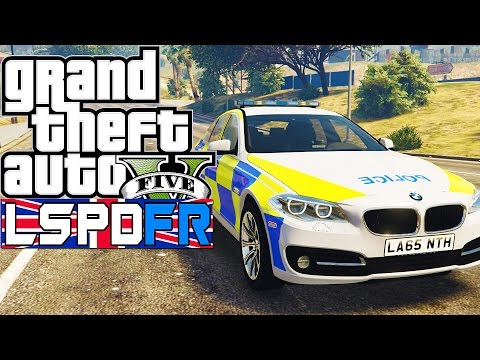GTA 5  Mods -  LSPDFR #23 - | BRITISH PATROL |