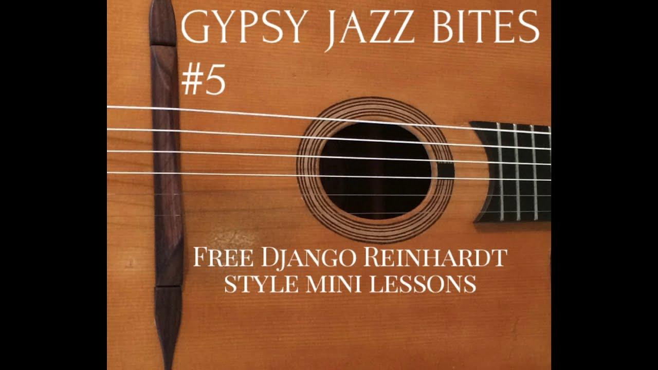 Free Gypsy Jazz Guitar Lessons With Jonny Hepbir | Gypsy Jazz Bites 5