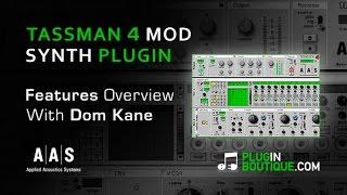 Tassman 4 Modular Synth Plugin - Tour Review With Dom Kane