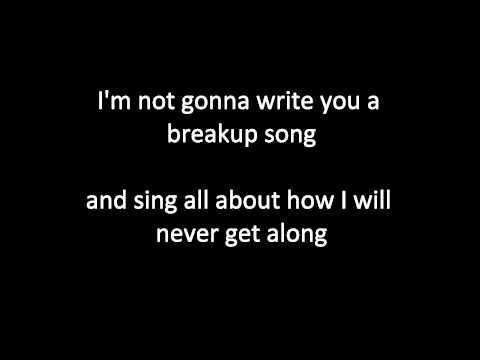 Justine Dorsey - Breakup Song (With Lyrics)