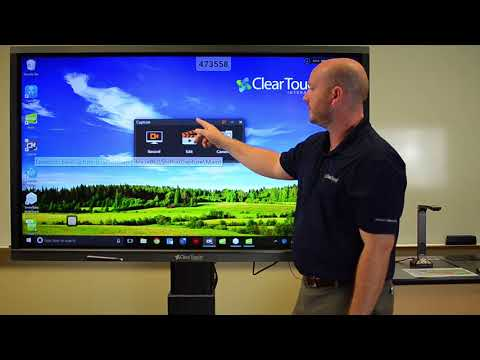 Clear Touch 6000 Series Interactive Panel Demo